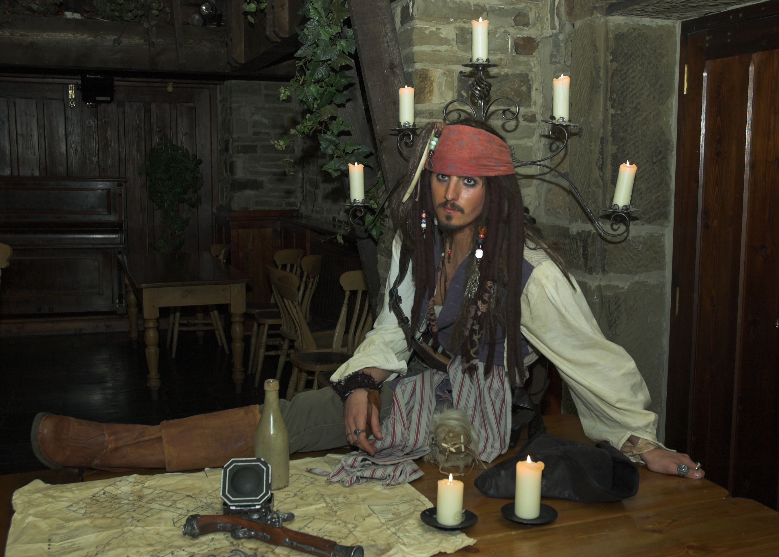 Johnny Depp, Captain Jack Sparrow